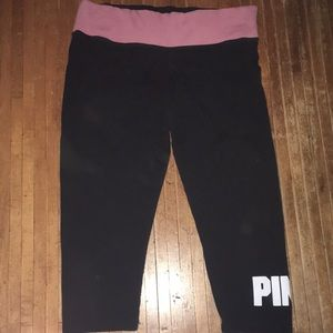 M Victoria's Secret yoga pants